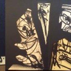 Arte: 3 LITOGRAFÍAS DE ANTONIO SAURA / ANDRÉ VELTER: L'ENFER ET LES FLEURS EN ARCHÉS, 40 EJEMPLARES /1988. Lote 197826385