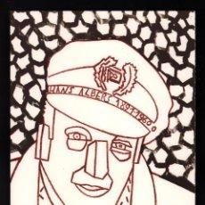 Arte: EDUARDO ARROYO HANS ALBERS 1891 1900 LITOGRAFÍA ORIGINAL NUMERADA 254/250 Y FIRMADA LÁPIZ ACTOR CINE. Lote 197833816