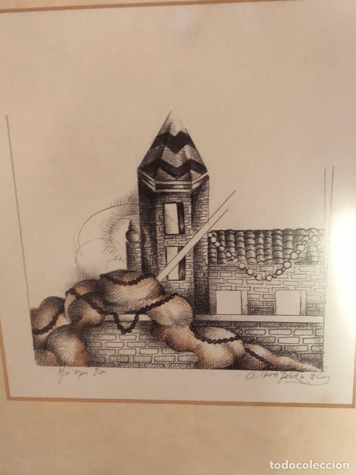 Arte: Bonita litografía firmada - Foto 2 - 197901308