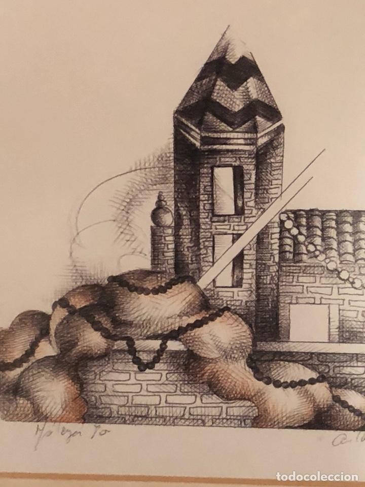 Arte: Bonita litografía firmada - Foto 3 - 197901308