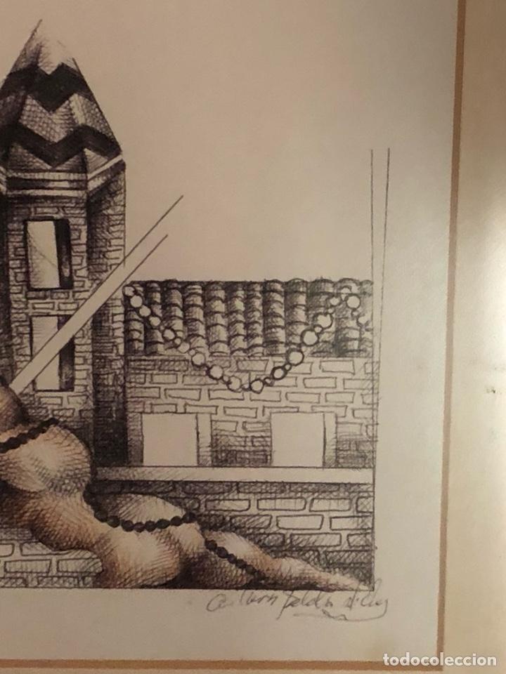 Arte: Bonita litografía firmada - Foto 4 - 197901308