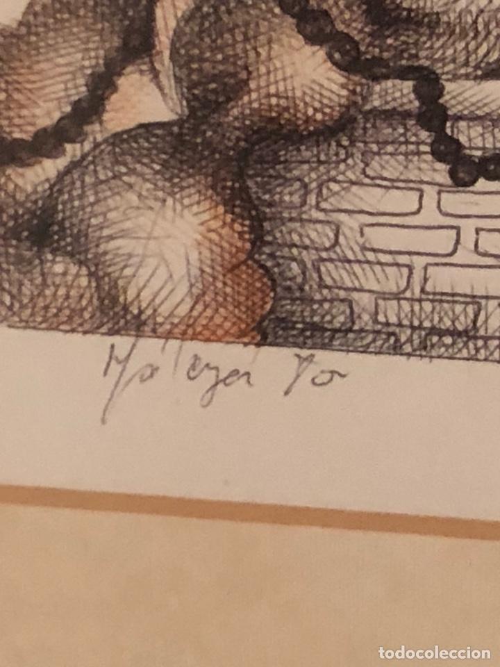 Arte: Bonita litografía firmada - Foto 6 - 197901308