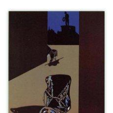 Arte: EDUARDO ARROYO TODA LA CIUDAD HABLA DE ELLO LITOGRAFÍA ORIGINAL1984 FIRMADA NUMERADA A LÁPIZ E.D.A. Lote 197919502