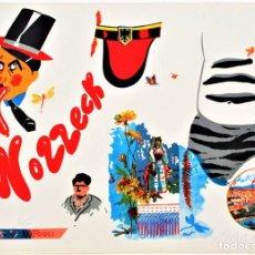 Arte: EDUARDO ARROYO WOZZECK LITOGRAFÍA ORIGINAL FIRMADA NUMERADA 59/200 FECHADA 1977 A LÁPIZ PAPL MAGNANI. Lote 197948337