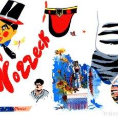 Arte: EDUARDO ARROYO WOZZECK LITOGRAFÍA ORIGINAL FIRMADA NUMERADA 69/200 FECHADA 1977 A LÁPIZ PAPL MAGNANI. Lote 197954746