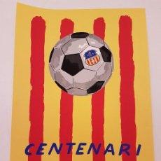 Arte: ROBERT LLIMÓS, LITOGRAFIA CONMEMORATIVA CENTENARI U. E. SANT ANDREU, (60X40). Lote 198029396