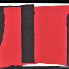 Arte: RAFAEL CANOGAR SINAÍ REPROD LITOGRÁFICA FIRM PLANCHA NUMERADA LÁPIZ H 474/1000 COA FASCÍCULO CARPETA. Lote 198194318