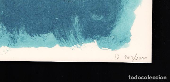 Arte: ALBERT RÀFOLS-CASAMADA TENSIÓN REPR LITOGRÁFICA FIR PLANCHA NUMERADA LÁPIZ D969/1000 COA FASC CARPET - Foto 8 - 198236353
