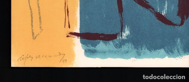 Arte: ALBERT RÀFOLS-CASAMADA TENSIÓN REPR LITOGRÁFICA FIR PLANCHA NUMERADA LÁPIZ D969/1000 COA FASC CARPET - Foto 10 - 198236353