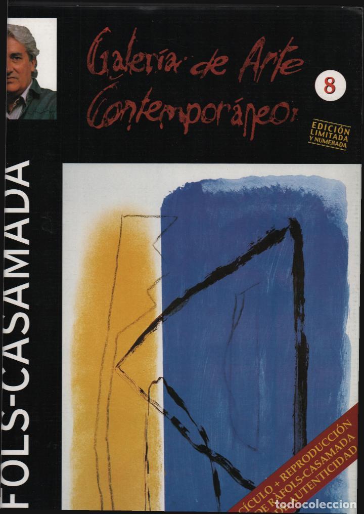 Arte: ALBERT RÀFOLS-CASAMADA TENSIÓN REPR LITOGRÁFICA FIR PLANCHA NUMERADA LÁPIZ D969/1000 COA FASC CARPET - Foto 15 - 198236353
