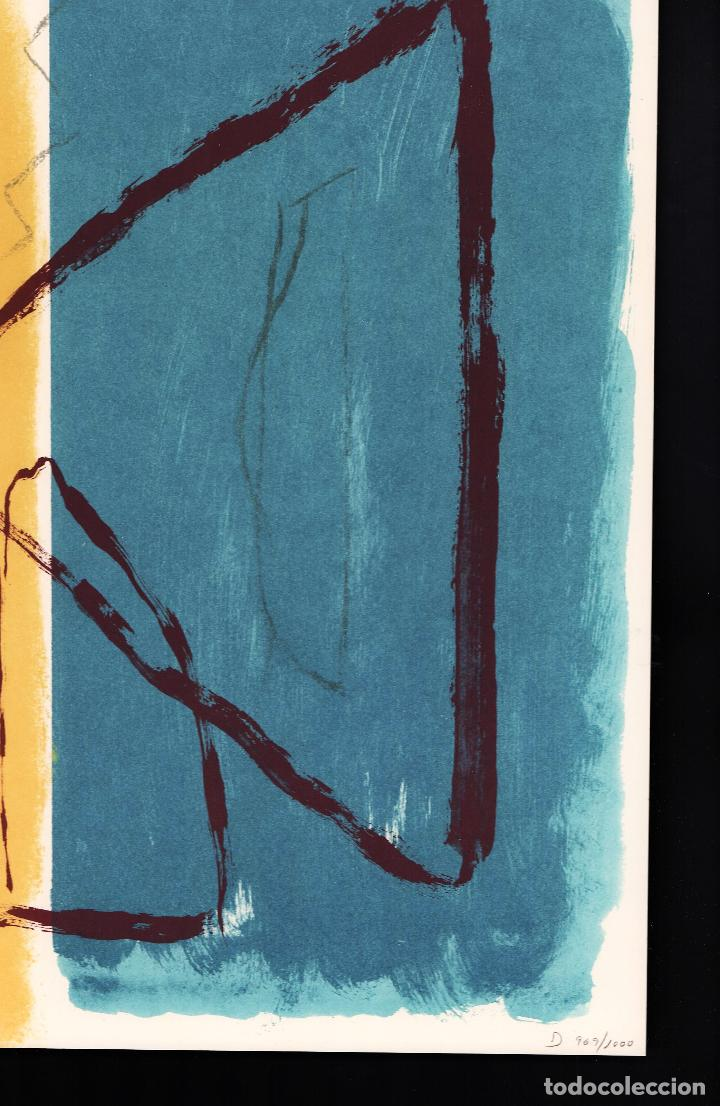 Arte: ALBERT RÀFOLS-CASAMADA TENSIÓN REPR LITOGRÁFICA FIR PLANCHA NUMERADA LÁPIZ D969/1000 COA FASC CARPET - Foto 19 - 198236353