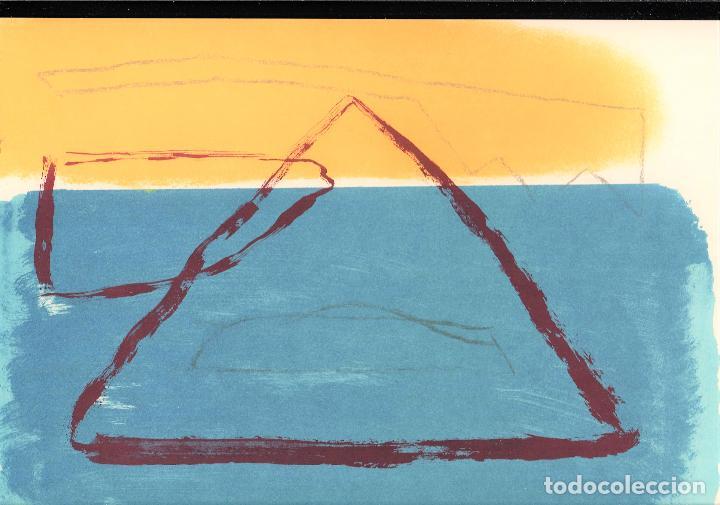 Arte: ALBERT RÀFOLS-CASAMADA TENSIÓN REPR LITOGRÁFICA FIR PLANCHA NUMERADA LÁPIZ D969/1000 COA FASC CARPET - Foto 25 - 198236353