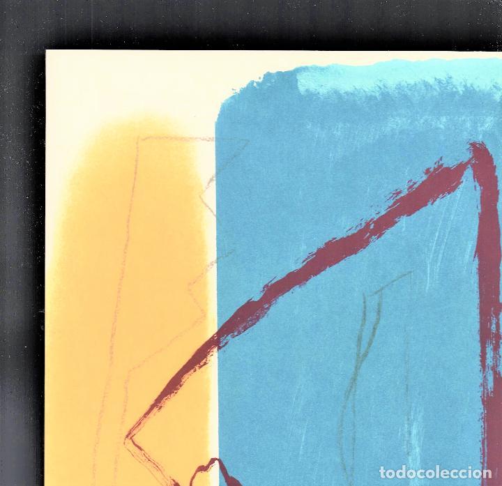 Arte: ALBERT RÀFOLS-CASAMADA TENSIÓN REPR LITOGRÁFICA FIR PLANCHA NUMERADA LÁPIZ D969/1000 COA FASC CARPET - Foto 28 - 198236353