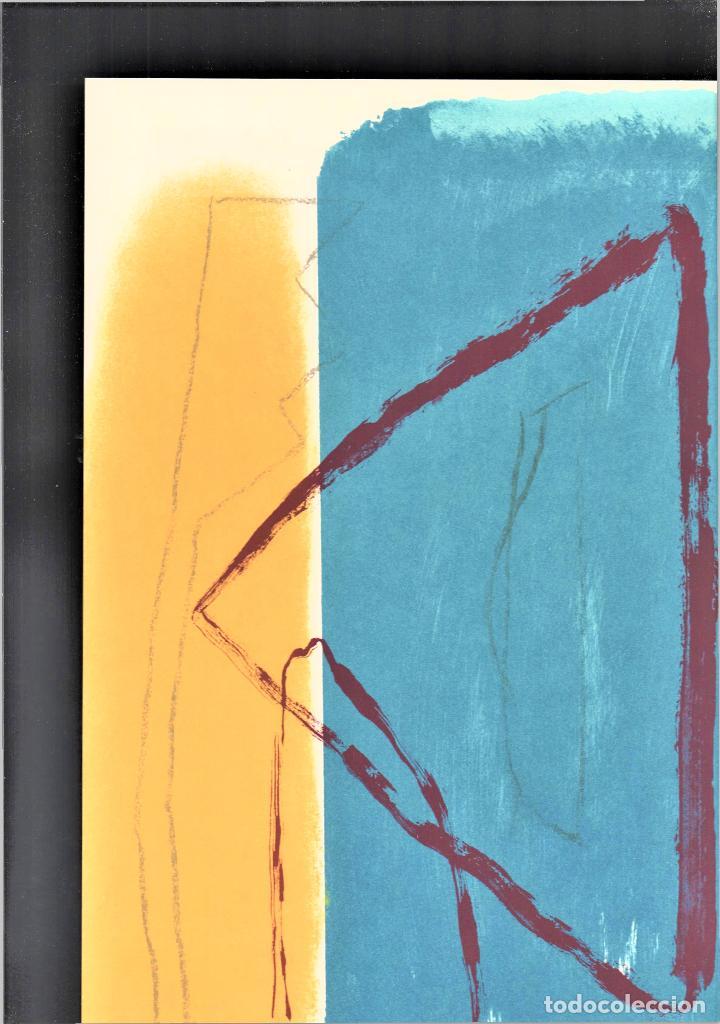 Arte: ALBERT RÀFOLS-CASAMADA TENSIÓN REPR LITOGRÁFICA FIR PLANCHA NUMERADA LÁPIZ D969/1000 COA FASC CARPET - Foto 30 - 198236353
