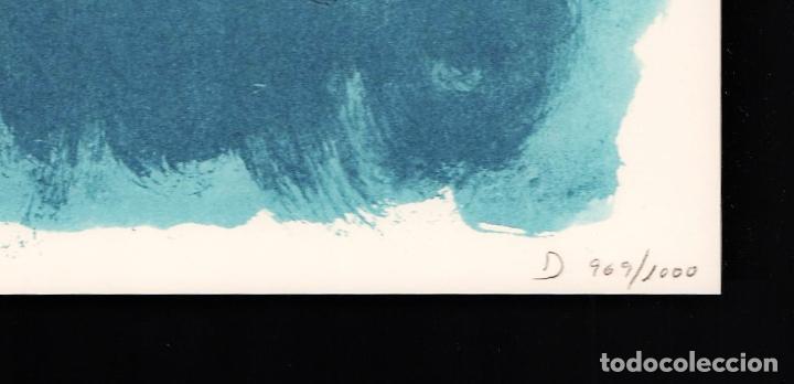 Arte: ALBERT RÀFOLS-CASAMADA TENSIÓN REPR LITOGRÁFICA FIR PLANCHA NUMERADA LÁPIZ D969/1000 COA FASC CARPET - Foto 32 - 198236353
