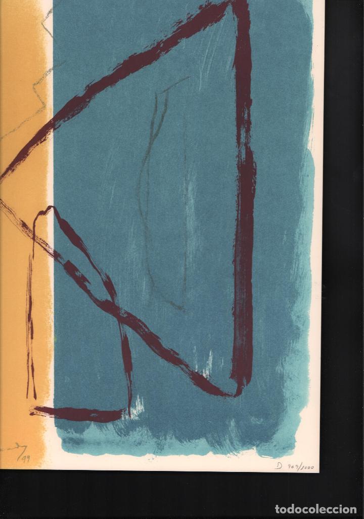 Arte: ALBERT RÀFOLS-CASAMADA TENSIÓN REPR LITOGRÁFICA FIR PLANCHA NUMERADA LÁPIZ D969/1000 COA FASC CARPET - Foto 39 - 198236353