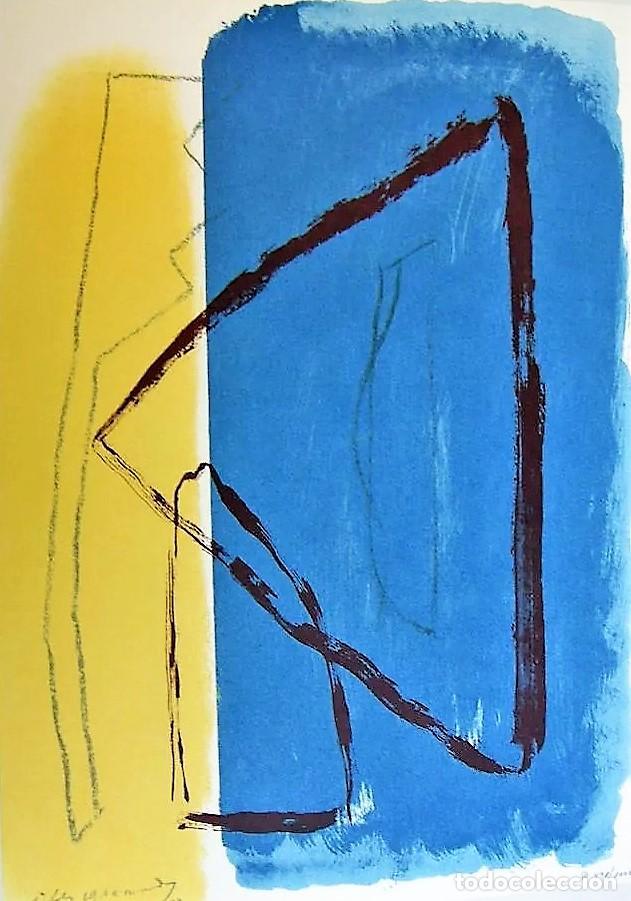 Arte: ALBERT RÀFOLS-CASAMADA TENSIÓN REPR LITOGRÁFICA FIR PLANCHA NUMERADA LÁPIZ D969/1000 COA FASC CARPET - Foto 42 - 198236353
