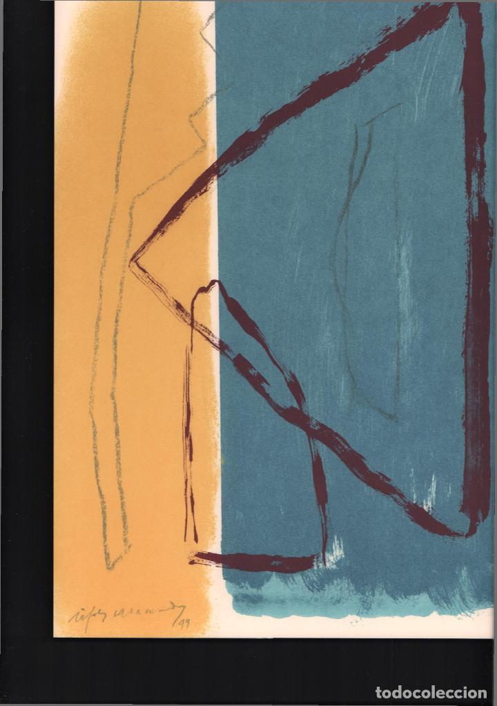 Arte: ALBERT RÀFOLS-CASAMADA TENSIÓN REPR LITOGRÁFICA FIR PLANCHA NUMERADA LÁPIZ D969/1000 COA FASC CARPET - Foto 48 - 198236353