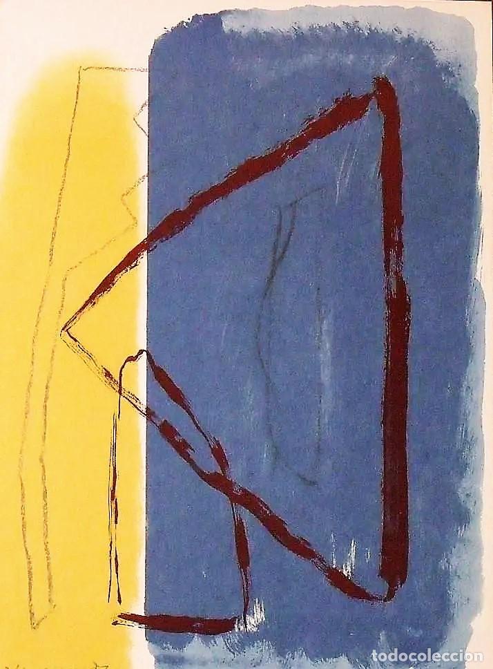 Arte: ALBERT RÀFOLS-CASAMADA TENSIÓN REPR LITOGRÁFICA FIR PLANCHA NUMERADA LÁPIZ D969/1000 COA FASC CARPET - Foto 51 - 198236353