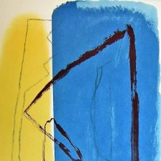 Arte: ALBERT RÀFOLS-CASAMADA TENSIÓN REPR LITOGRÁFICA FIR PLANCHA NUMERADA LÁPIZ D969/1000 COA FASC CARPET. Lote 198236353
