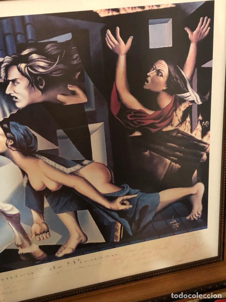 Arte: Magnifica litografía reinterpretacion del Guernica, firmada y numerada - Foto 4 - 198365981