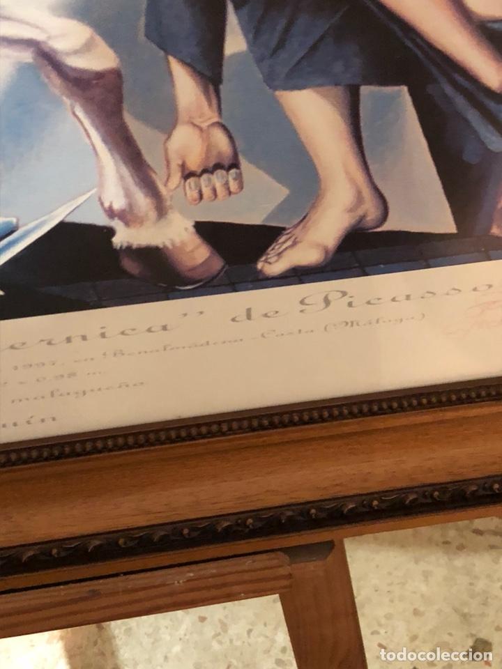 Arte: Magnifica litografía reinterpretacion del Guernica, firmada y numerada - Foto 6 - 198365981