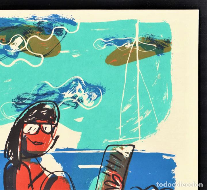 Arte: MARISCAL SIN TÍTULO REPROD. LITOGRÁFICA FIRMADA PLANCHA NUMERADA A LÁPIZ D 361/1000 COA FASC CARPETA - Foto 10 - 198415712