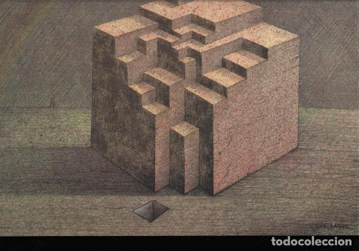 Arte: SUBIRACHS ESTRUCTURA REPROD. LITOGRÁFICA FIRMADA PLANCHA NUMERADA A LÁPIZ C966/1000 COA FASC CARPETA - Foto 3 - 198481088