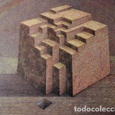 Arte: SUBIRACHS ESTRUCTURA REPROD. LITOGRÁFICA FIRMADA PLANCHA NUMERADA A LÁPIZ C966/1000 COA FASC CARPETA. Lote 198481088