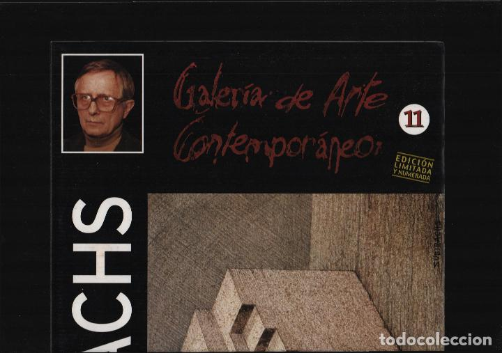 Arte: SUBIRACHS ESTRUCTURA REPROD. LITOGRÁFICA FIRMADA PLANCHA NUMERADA A LÁPIZ C966/1000 COA FASC CARPETA - Foto 8 - 198481088