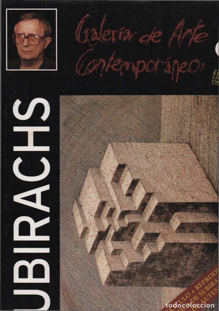 Arte: SUBIRACHS ESTRUCTURA REPROD. LITOGRÁFICA FIRMADA PLANCHA NUMERADA A LÁPIZ C966/1000 COA FASC CARPETA - Foto 28 - 198481088
