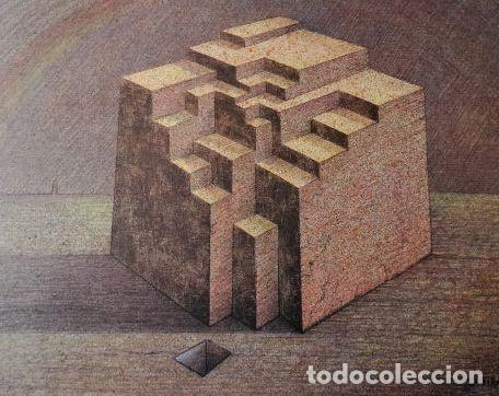 Arte: SUBIRACHS ESTRUCTURA REPROD. LITOGRÁFICA FIRMADA PLANCHA NUMERADA A LÁPIZ C966/1000 COA FASC CARPETA - Foto 59 - 198481088