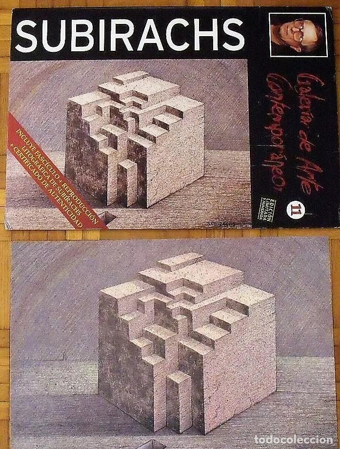 Arte: SUBIRACHS ESTRUCTURA REPROD. LITOGRÁFICA FIRMADA PLANCHA NUMERADA A LÁPIZ C966/1000 COA FASC CARPETA - Foto 67 - 198481088