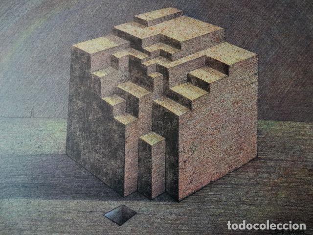 Arte: SUBIRACHS ESTRUCTURA REPROD. LITOGRÁFICA FIRMADA PLANCHA NUMERADA A LÁPIZ C966/1000 COA FASC CARPETA - Foto 71 - 198481088