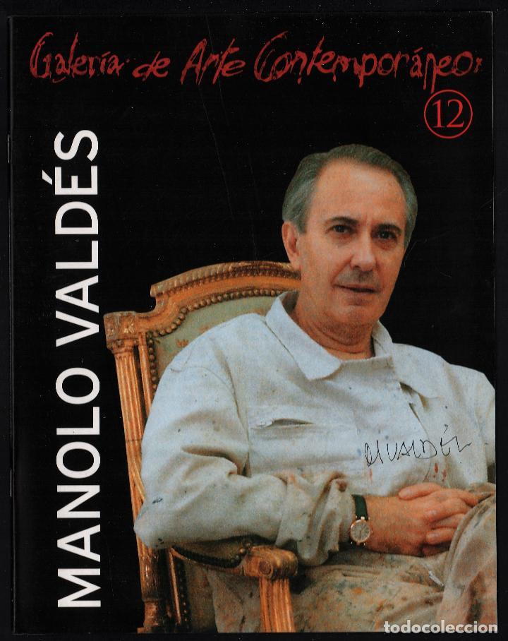 Arte: MANOLO VALDÉS RELOJ REPROD. LITOGRÁFICA FIRMADA PLANCHA NUMERADA A LÁPIZ F 623/1000 COA FASC CARPETA - Foto 11 - 198533768