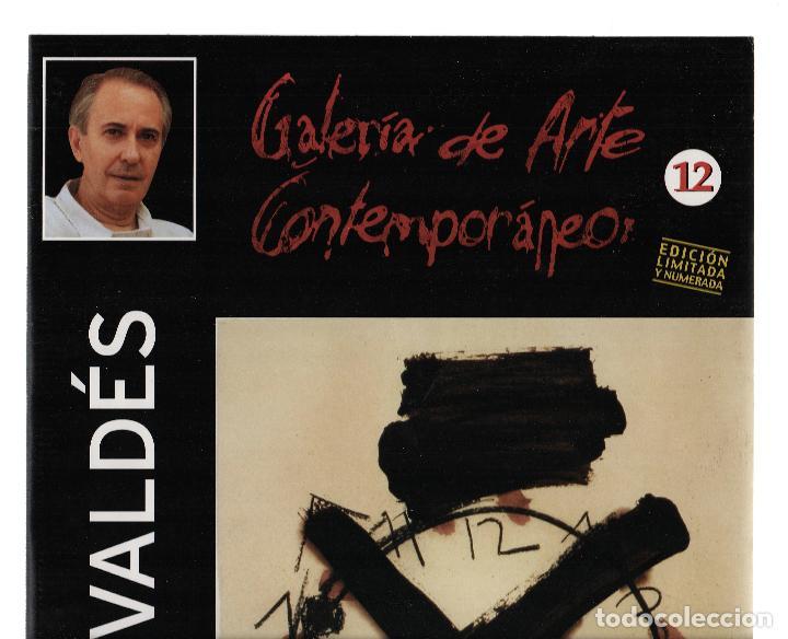 Arte: MANOLO VALDÉS RELOJ REPROD. LITOGRÁFICA FIRMADA PLANCHA NUMERADA A LÁPIZ F 623/1000 COA FASC CARPETA - Foto 14 - 198533768