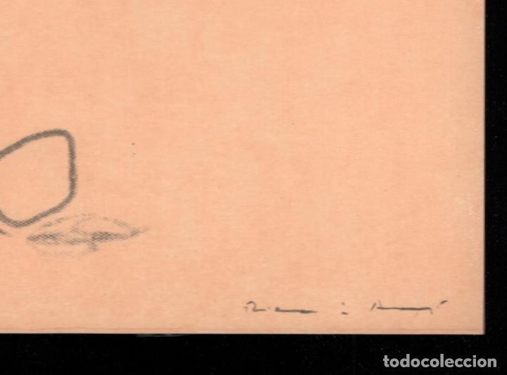 Arte: RIERA I ARAGÓ SUBMARINO REPR LITOGRÁFICA FIRMADA PLANCHA NUMERADA A LÁPIZ E367/1000 COA FASC CARPETA - Foto 3 - 198570861