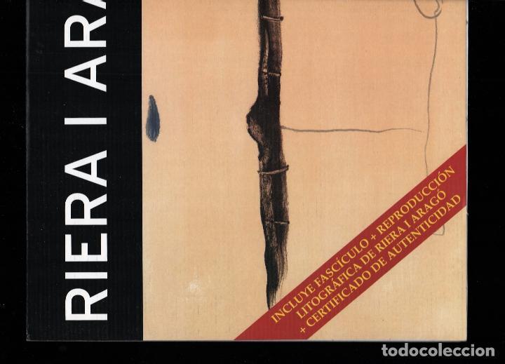 Arte: RIERA I ARAGÓ SUBMARINO REPR LITOGRÁFICA FIRMADA PLANCHA NUMERADA A LÁPIZ E367/1000 COA FASC CARPETA - Foto 15 - 198570861