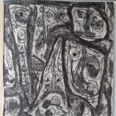 Arte: DOS LITOGRAFÍAS DE ANTONIO SAURA: TROIS VISIONS, PLANCHAS 5 Y 6, 1971. Lote 198638162