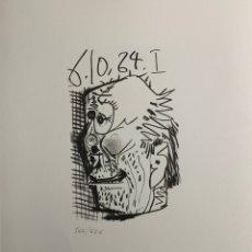Arte: LITOGRAFIA DE PICASSO. Lote 198805471