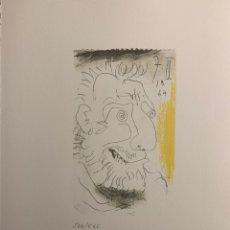 Arte: LITOGRAFÍA DE PICASSO. Lote 198805715