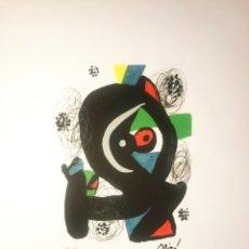 Arte: JOAN MIRÓ - LITOGRAFÍA MÉLODIE ACIDE. Lote 198840336