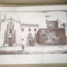 Arte: GRAN LITOGRAFIA DEL MONASTERIO DE LA SANTA FAZ. NUMERADA.. Lote 198840357