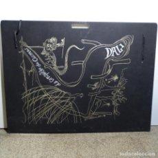 "Arte: GRAN CARPETA DE LITOGRAFÍAS ""LA CONQÛETE DU COSMOS"" DE DALI.(SOLO CARPETA).. Lote 199648531"