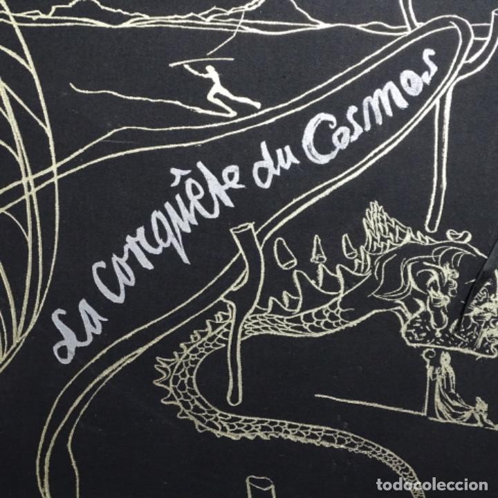 "Arte: Gran carpeta de litografías ""la conqûete du cosmos"" de dali.(solo carpeta). - Foto 4 - 199648531"