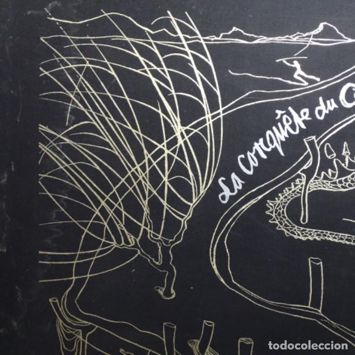 "Arte: Gran carpeta de litografías ""la conqûete du cosmos"" de dali.(solo carpeta). - Foto 6 - 199648531"