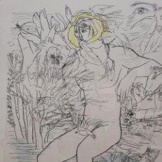 Arte: LOS SONETOS DE SHAKESPEARE.GREGORIO PRIETO. Lote 199774742