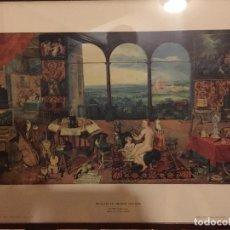 Arte: LITOGRAFIA CLÁSICA ENMARCADA Y CON CRISTRAL. PERFECTO ESTADO.. Lote 199862985