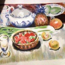Arte: SIMÓ BUSOM- LITOGRAFIA NUMERADA Y FIRMADA. A MANO. Lote 200584943