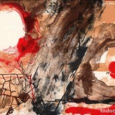 Arte: JOSEP GUINOVART HORIZONTES REPRO LITOGRÁFICA FIRMADA PLANCHA NUMERADA LÁPIZ H 751/1000 COA FASCÍCULO. Lote 243831325